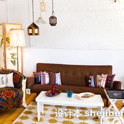 客厅茶几地毯效果图片