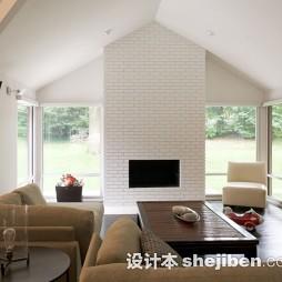 现代风文化砖电视墙图片欣赏