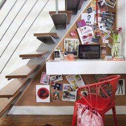 楼梯间书房样板间装修图片