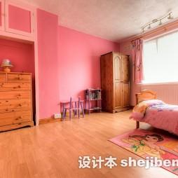 女孩儿童房实木家具图片