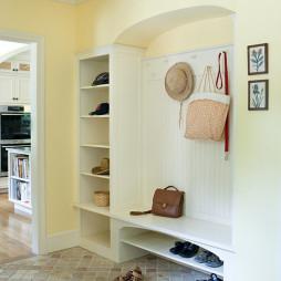 美式家装鞋柜效果图