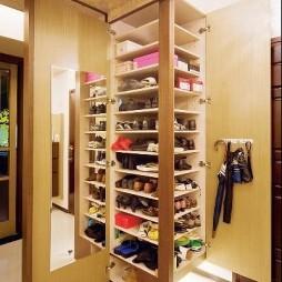 欧式家装鞋柜效果图