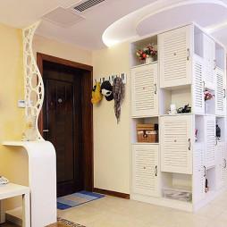 墙体鞋柜设计效果图