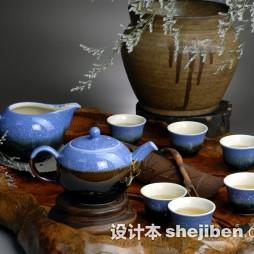 古典陶瓷茶具套杯图片欣赏