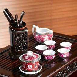 陶瓷茶具装修效果图