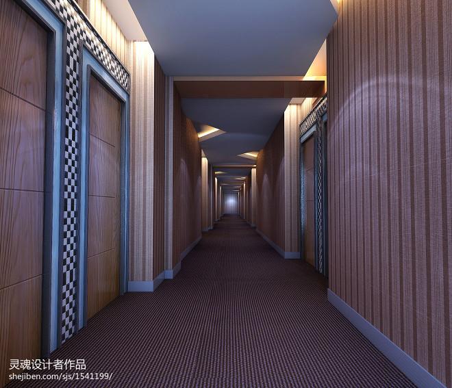 迷你酒店走廊装修效果图