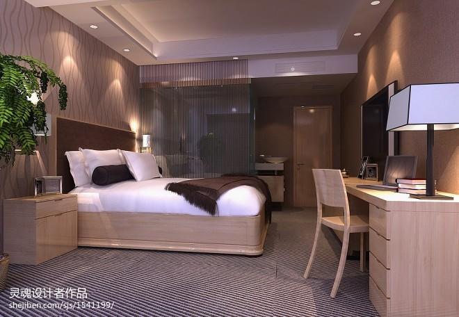 现代风格迷你酒店装修效果图