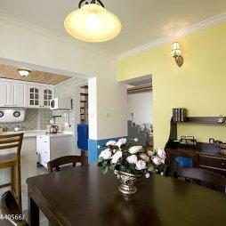 浪漫地中海风格厨房装修效果图大全