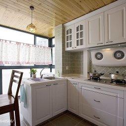 浪漫地中海风格厨房吊顶装修