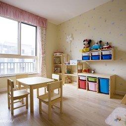 浪漫地中海风格儿童房背景墙图片
