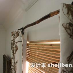 木质卷帘窗帘设计效果图片大全