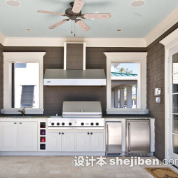 厨房小方块室内地板砖装修图片