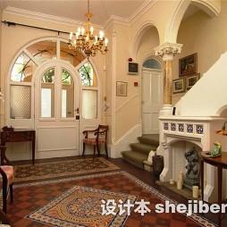 别墅楼梯间地毯图片
