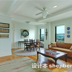 现代客厅实木家具图片