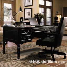黑漆实木家具效果图片