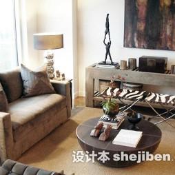 新古典客厅装饰画效果图片大全