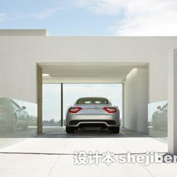 私人车库设计房子装修效果图