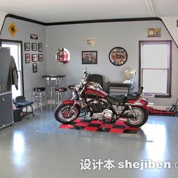 房屋装修车库样板间图片欣赏