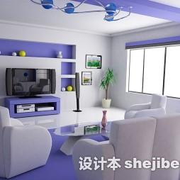 创意家装客厅吊顶图片欣赏