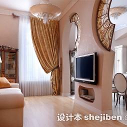 欧式小客厅装修设计图