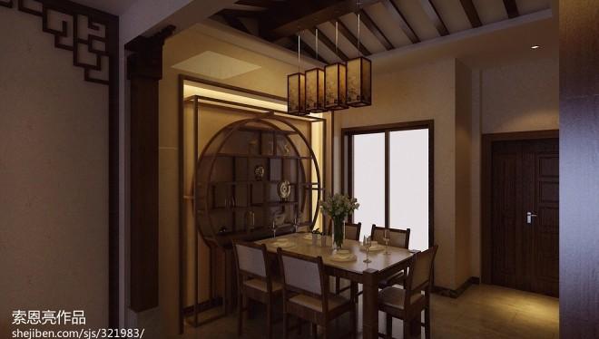 碧桂园别墅中式风