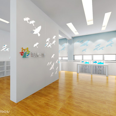 小学荣誉室学校文化墙效果图