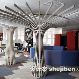 创意造型办公室形象墙图片欣赏