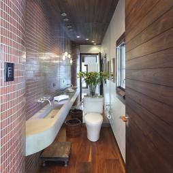 最新厕所瓷砖装修效果图