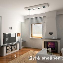小客厅百叶窗帘图片