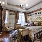 欧式风格联排别墅卧室装修图片欣赏