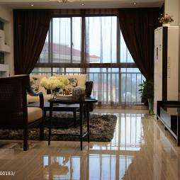 中式家装客厅窗户图片