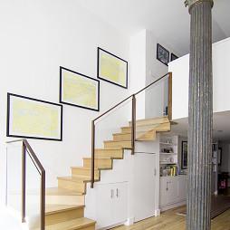 复式阁楼楼梯设计