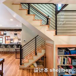 复式阁楼楼梯图片