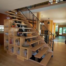 复式阁楼楼梯装图片汇总