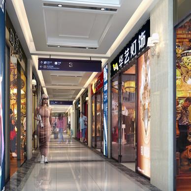 大型商场玻璃橱窗设计图