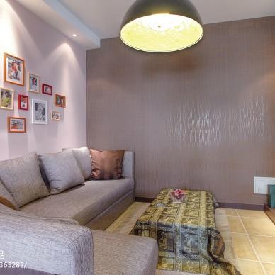 混搭家装公寓客厅效果图