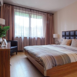 混搭家装公寓卧室设计