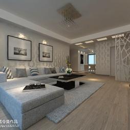交换空间旧物改造客厅设计
