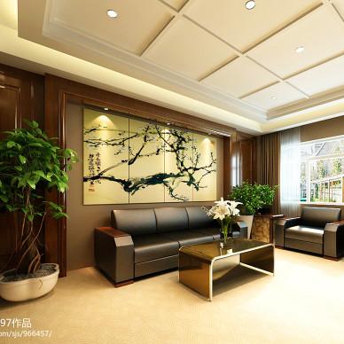 现代办公沙发装修设计图片