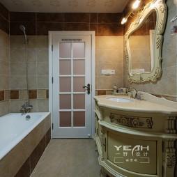 欧式整体卫浴装修效果图