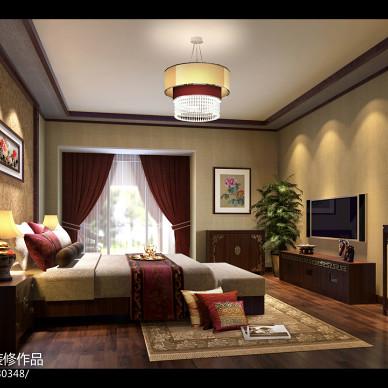 麓山国际新中式风格装修效果图_1372409