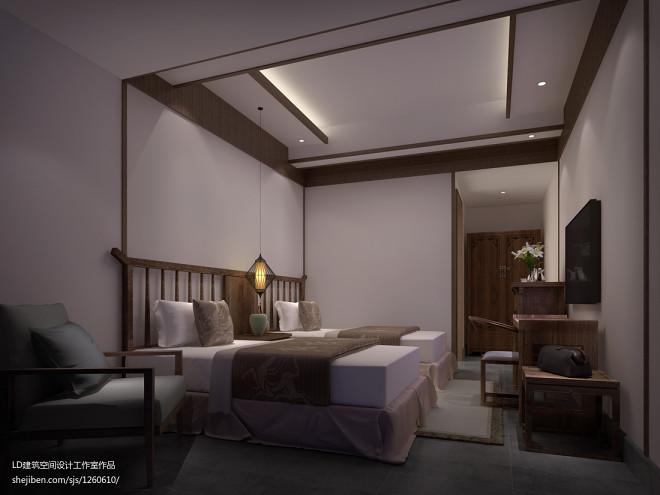 2017酒店公寓装修效果图