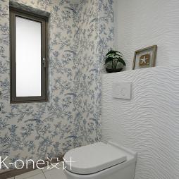美式卫生间窗户设计