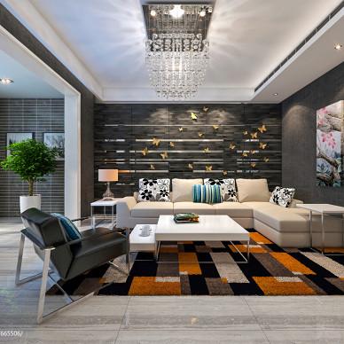 现代布艺沙发装修效果图