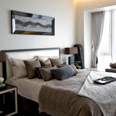 东南亚风酒店式公寓装修效果图