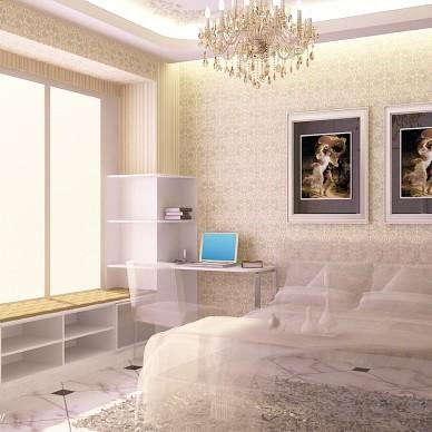 单身公寓卧室简单装修效果图