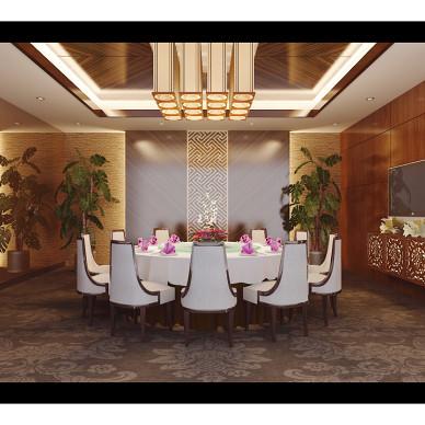 中式餐饮空间装修图