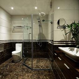 样板房设计整体淋浴房装修效果图