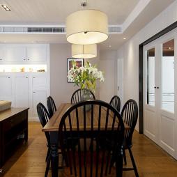 现代三室两厅餐厅装修效果图大全2017图片