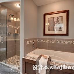 家居小卫生间瓷砖装修设计